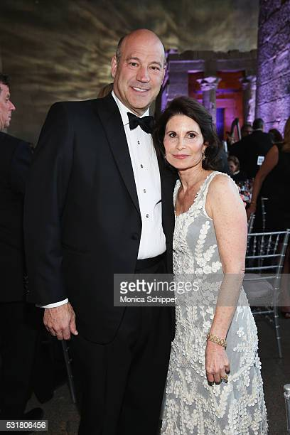 Gary Cohn and Lori Fink attend NYU Langone Medical Center's 2016 Violet Ball at the Metropolitan Museum of Art on May 16 2016 in New York City