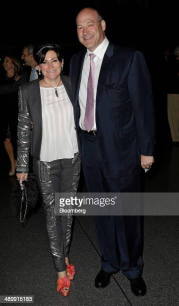 Gary Cohn president and chief operating officer of Goldman Sachs Group Inc and his wife Lisa Pevaroff Cohn arrive at the Robin Hood Foundations...