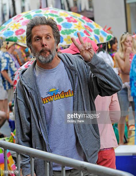 """Gary Cole filming on location for """"30 Rock"""" on October 1, 2012 in New York City."""
