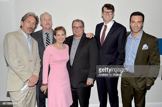 "Gary Cole, Matt Walsh, Anna Chlumsky, Kevin Dunn, Timothy Simons and Reid Scott of ""VEEP"" attend the White House Correspondents' Dinner Weekend..."