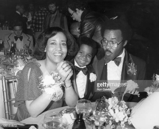 Gary Coleman and his parents during 7th Annual People's Choice Awards at Desilu TV Studios in Los Angeles California United States