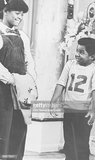 Gary Coleman during a television show 1975