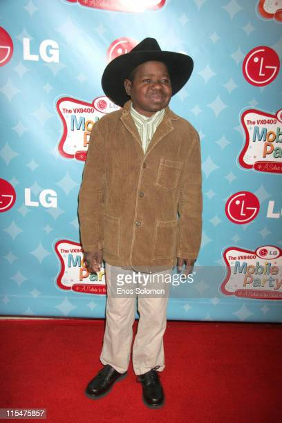 Gary Coleman during LG Mobile TV Party at Stage 14 Paramount Studios in Hollywood CA United States