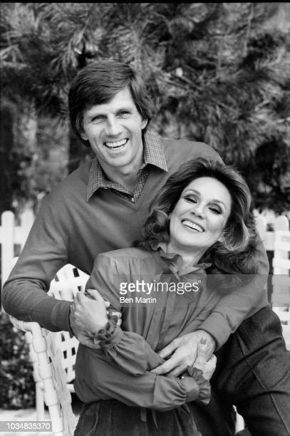 Gary Collins actor and wife Mary Ann Mobley former Miss America at home December 9th 1980