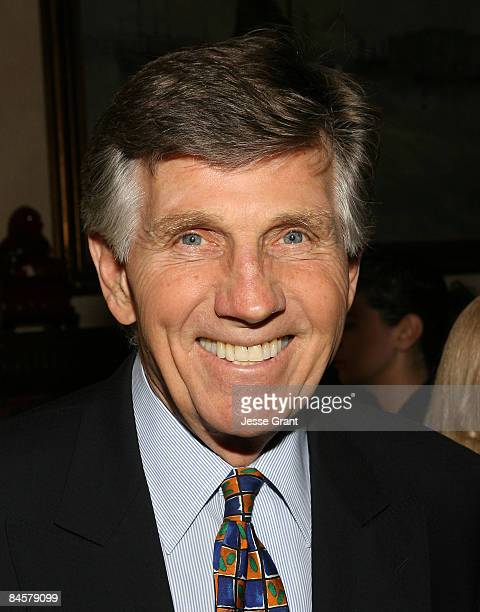Gary Collins attends the wedding of Michael Feinstein and Terrence Flannery held at a private residence on October 17 2008 in Los Angeles California