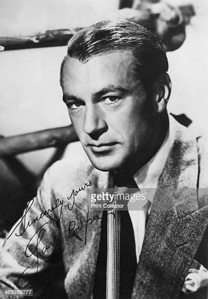 Gary Cooper American film actor 20th century Cooper won two Best Actor Academy Awards for his performances in Sergeant York and High Noon