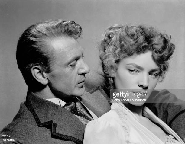 Gary Cooper stars as tobacco farmer Brant Royle and Lauren Bacall as the woman he loves in 'Bright Leaf' directed by Michael Curtiz