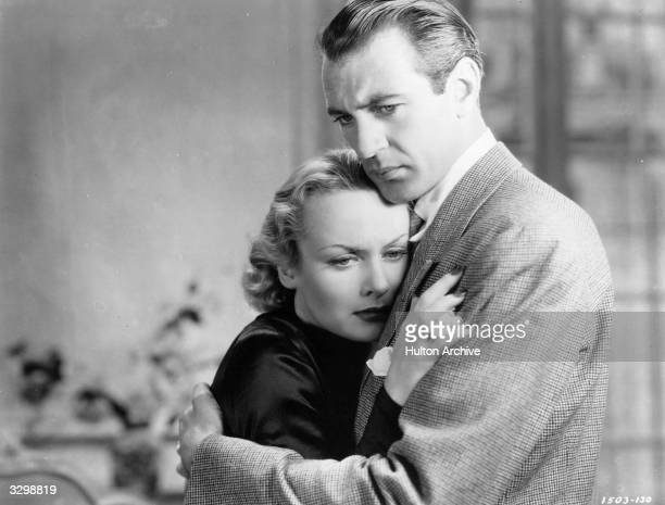 Gary Cooper stars with Carole Lombard in the film 'Now And Forever' directed by Henry Hathaway for Paramount