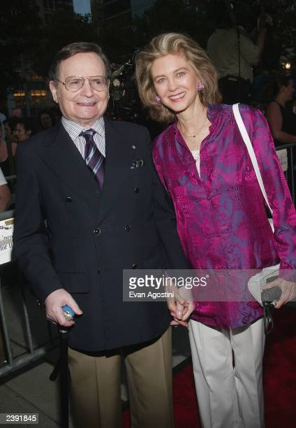 Gary Cooper's daughter Maria Cooper and her husband Byron Janis arrive at the 60th Anniversary of Casablanca gala tribute screening and DVD release...