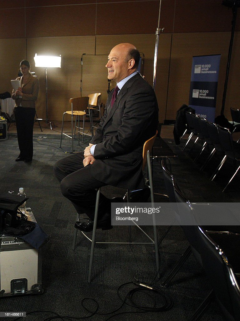 Gary D. Cohn, president and chief operating officer of Goldman Sachs Group Inc., speaks during a Bloomberg Television interview in Warrensville Heights, Ohio, U.S., on Monday, Feb. 11, 2013. Cohn said that interest rates at or near record lows will eventually rise and he's concerned some investors don't understand that bonds will lose value. Photographer: David Maxwell/Bloomberg via Getty Images