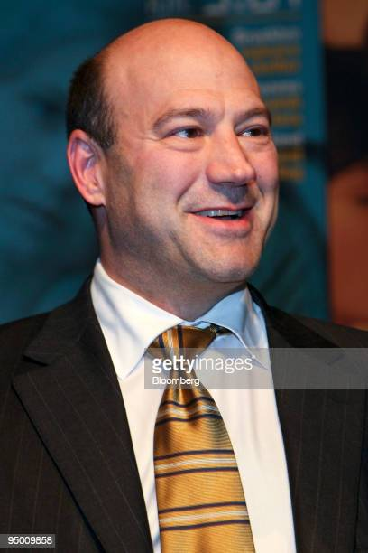 Gary D Cohn president and chief operating officer of Goldman Sachs Group Inc attends the UJA Federation of New York's annual Wall Street Dinner in...