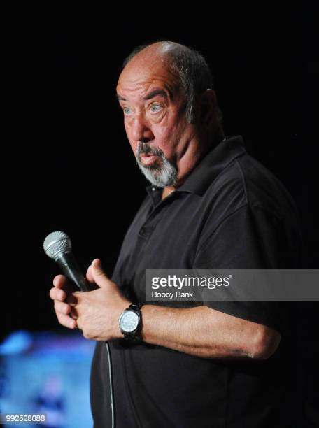 Gary DeLena performs at The Stress Factory Comedy Club on July 5, 2018 in New Brunswick, New Jersey.
