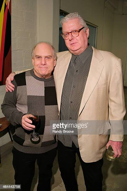 Gary Delfiner and Bob Jason attend FilmRise Celebrates new office in Industry City Brooklyn at FilmRise on February 25 2015 in Brooklyn New York