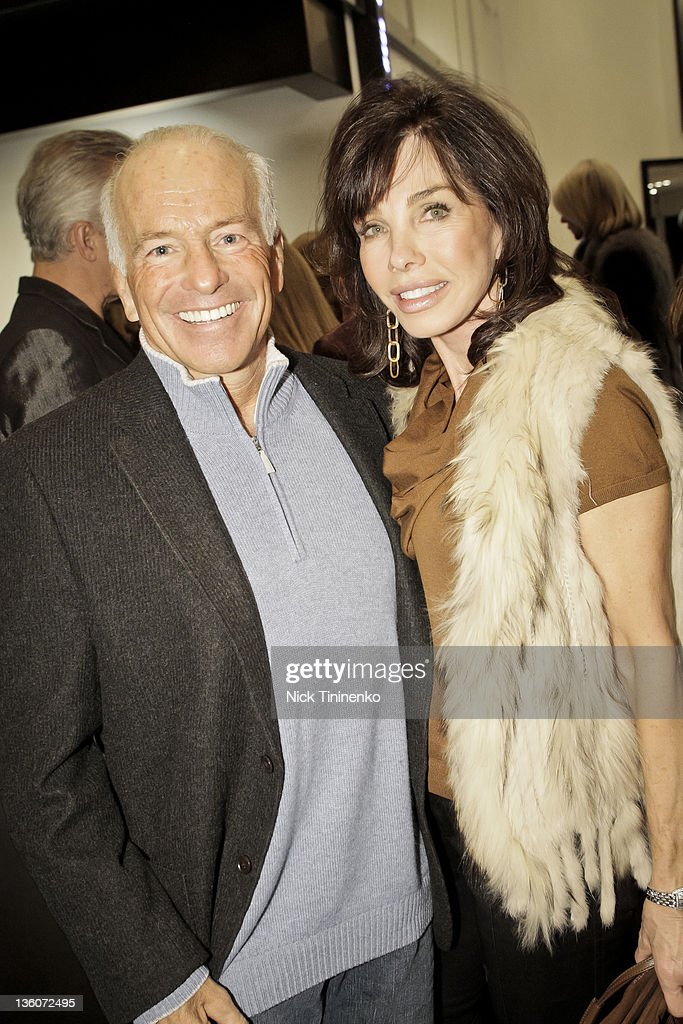 Gary DePersia And Donna Livingston Attend Fendi With Vogue And Amy Phelan  And Carolyn Powers Present