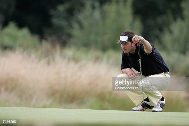 Gary Donnison in action during the Ryder Cup Wales 2010 Welsh Open PGA Championship at the Marriott St Pierre Hotel and Country Club on August 1 2006...