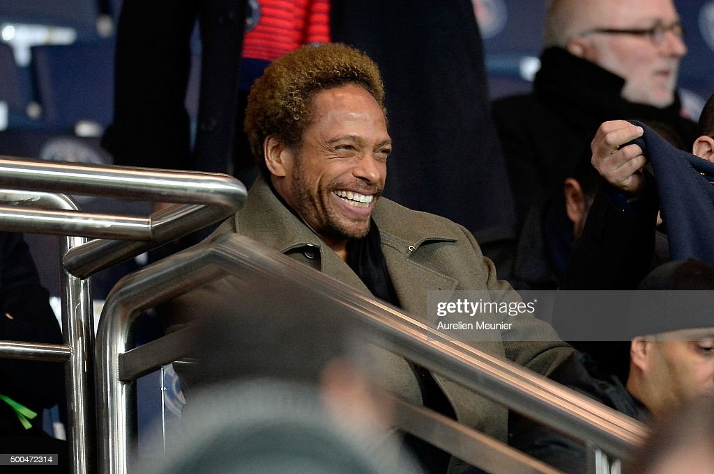Gary Dourdan attends the UEFA Champions League game between the Paris Saint-Germain and FC Shakhtar Donetsk at Parc des Princes on December 8, 2015 in Paris, France.