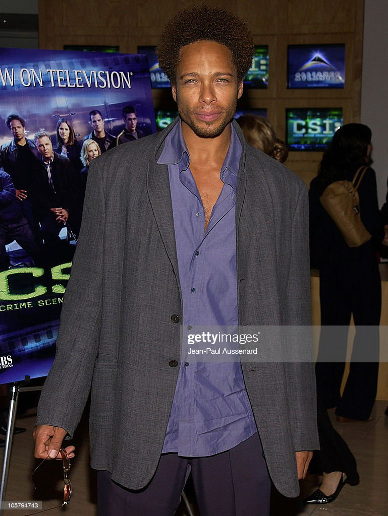 Gary Dourdan during 'CSI: Crime Scene Investigation' Fourth Season Premiere Screening at Museum of Television and Radio in Beverly Hills, California, United States.