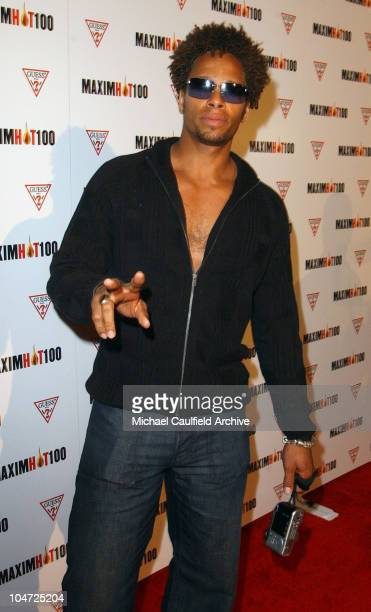 Gary Dourdan during Maxim Hot 100 Party Arrivals at Yamashiro in Hollywood California United States