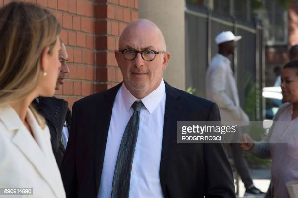 Gary Eisenberg lawyer of a Dutch convicted arms dealer arrives at the Cape Town Magistrate's court where his client's bail application is being heard...