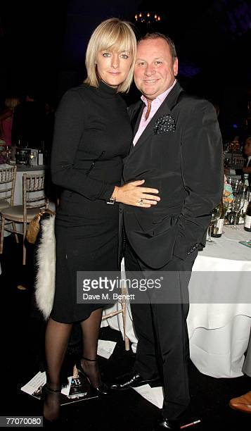 Gary Farrow and Jane Moore attend the Berkeley Square Ball at Berkeley Square on September 27 2007 in London England