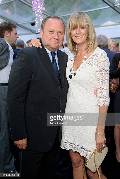 Gary Farrow and Jane Moore attend the Glamour Women Of The Year Awards at Berkeley Square Gardens on June 7 2011 in London England