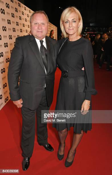 Gary Farrow and Jane Moore attend the GQ Men Of The Year Awards at the Tate Modern on September 5 2017 in London England