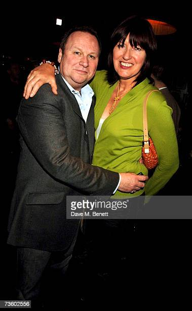 Gary Farrow and Janet StreetPorter attend private party at Ronnie Scott's hosted by Gary Farrow on March 15 2007 in London England