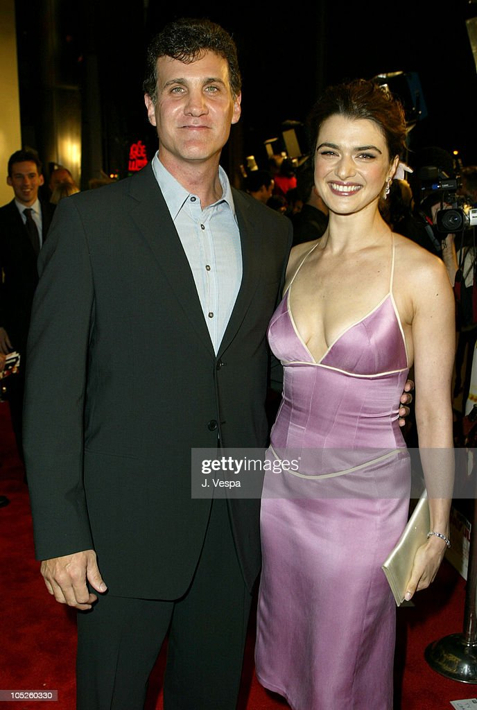 Gary Fleder, Director and Rachel Weisz during 'Runaway Jury' Los Angeles Premiere - Red Carpet at Cinerama Dome in Hollywood, California, United States.