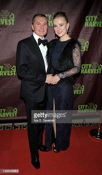Gary Flom and Svitlana Flom attend 18th annual An Evening of Practical Magic at Cipriani 42nd Street on April 24 2012 in New York City