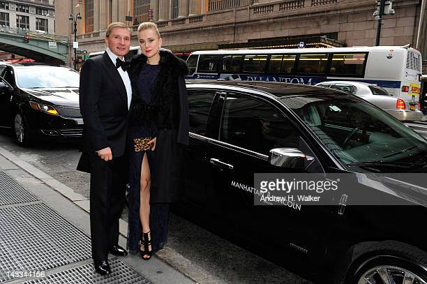 Gary Flom and Svitlana Flom attend City Harvest's 18th Annual An Evening Of Practical Magic at Cipriani 42nd Street on April 24 2012 in New York City