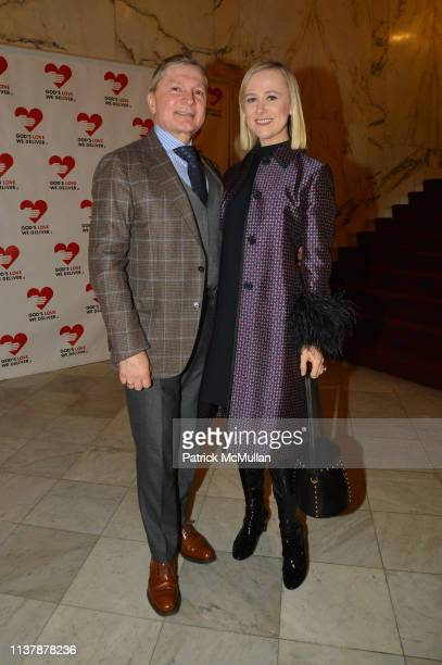 Gary Flom and Svitlana Flom attend The 16th Annual Authors In Kind Benefiting God's Love We Deliver at The Metropolitan Club on April 17 2019 in New...