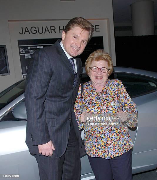 Gary Flom President and CEO of Manhattan Automobile Company and Dr Ruth Westheimer