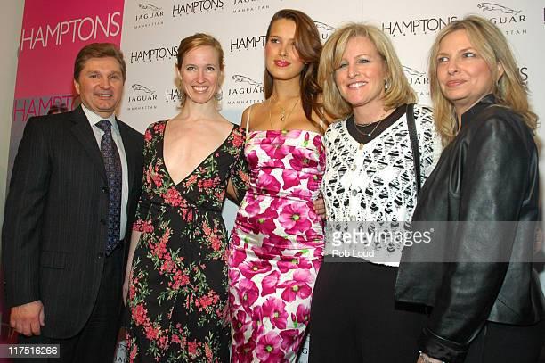Gary Flom President and CEO of Manhattan Automobile Company Cindi Cook Editor in Chief of Hamptons Magazine Petra Nemcova Lori Burgess Group...