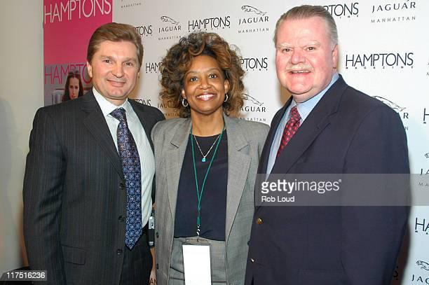 Gary Flom President and CEO of Manhattan Automobile Company Lisa Harris and James J Padilla President and CEO of Ford Motor Company