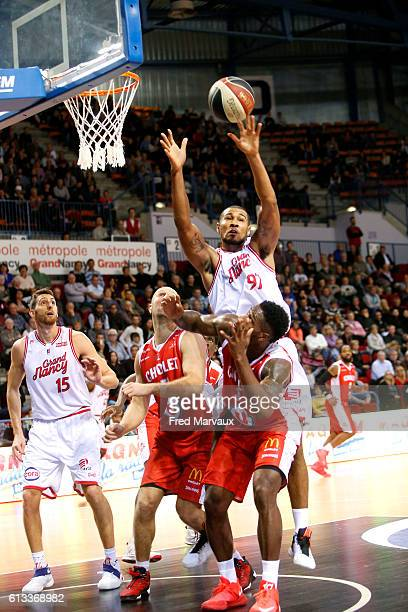 993d318431752 Gary Florimont of Sluc Nancy basket during the Basketball Pro A match  between Nancy and Cholet