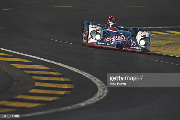 Gary Formato of South Africa drives the LMP900 SMG Competition Courage C60 Judd V10 during the ACO European Le Mans Series 24 Hours of Le Mans on 17...