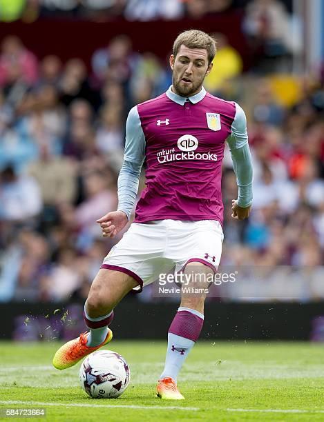 Gary Gardner of Aston Villa during the Pre-Season Friendly match between Aston Villa and Middlesbrough at Villa Park on July 30, 2016 in Birmingham,...
