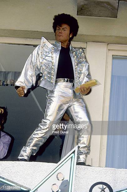 Gary Glitter aka Paul Gadd August 1993 during Gary Glitter Archive Pictures in London Great Britain