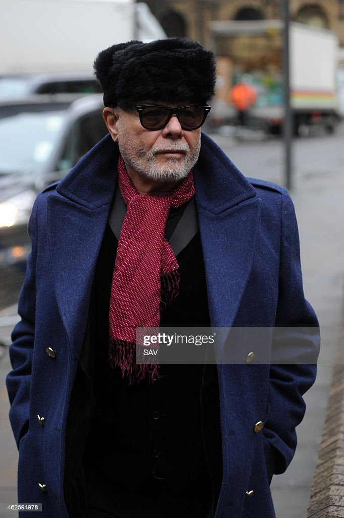 Gary Glitter Attends Court To Face Sex Offence Charges : News Photo