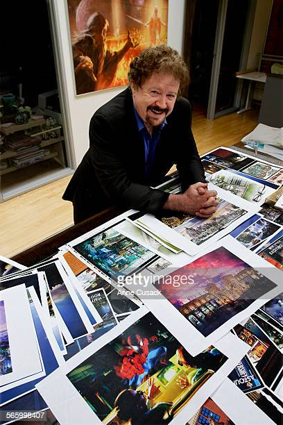 Gary Goddard Founder and Chairman of The Goddard Group Gary Goddard Entertainment and Design poses for a portrait in his company in North Hollywood...