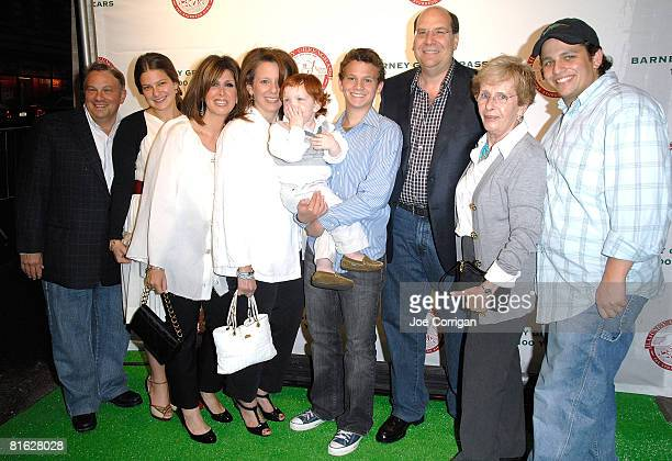 Gary Greengrass and family attend the Barney Greengrass celebration of 100 years on June 18 2008 at Barney Greengrass in New York