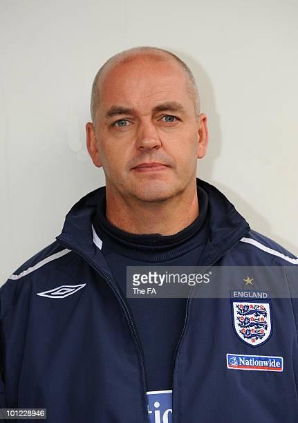 Gary Guyan, staff member of theEngland Senior Team and the English Football Association on May 23, 2008.