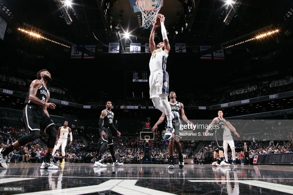 Denver Nuggets v Brooklyn Nets