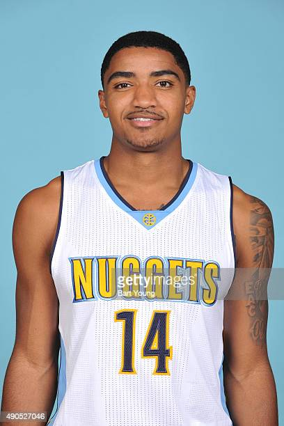 Gary Harris of the Denver Nuggets poses for a head shot on September 28 2015 at the Pepsi Center in Denver Colorado NOTE TO USER User expressly...