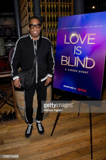 Gary Hayes attends the Netflix's Love is Blind VIP viewing party at City Winery on February 27 2020 in Atlanta Georgia