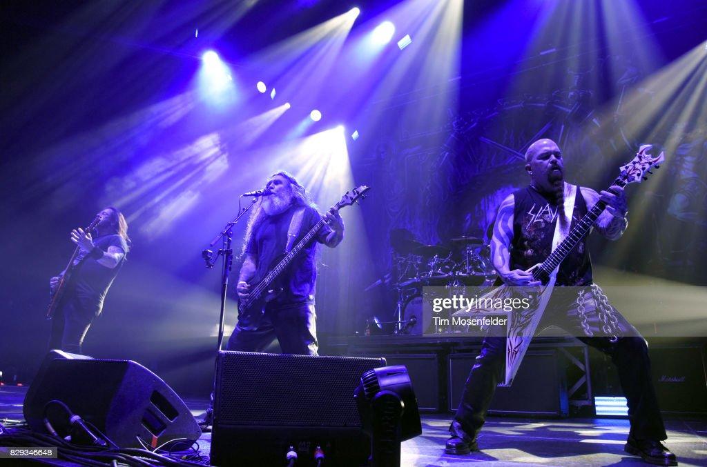 Slayer, Lamb Of God And Behemoth In Concert At Bill Graham Civic Auditorium