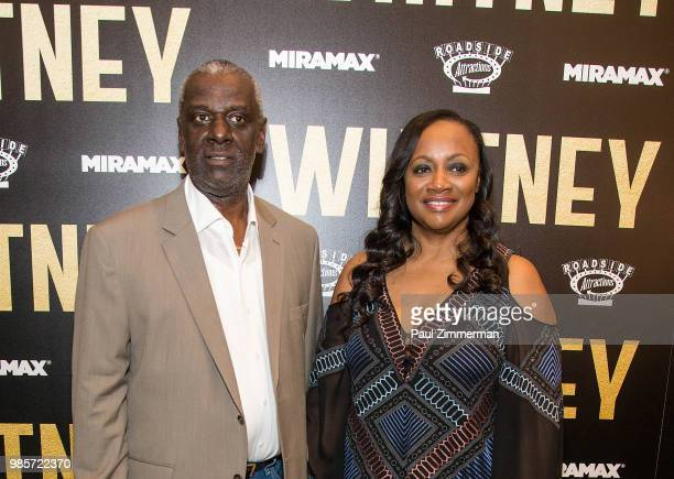 Gary Houston and executive producer Pat Houston attend Whitney New York Screening at the Whitby Hotel on June 27 2018 in New York City