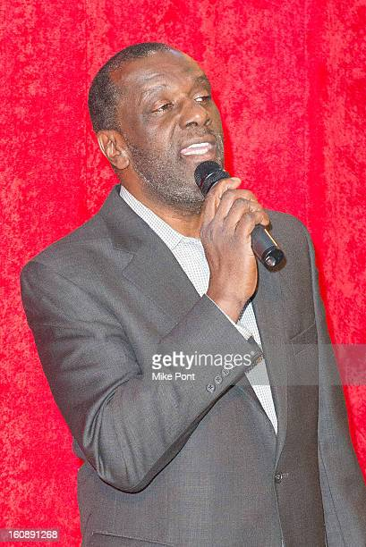 Gary Houston attends Madame Tussauds Whitney Houston Wax Unveiling at Madame Tussauds on February 7 2013 in New York City