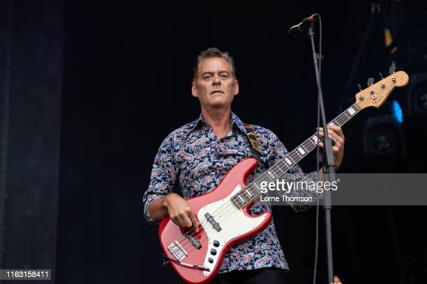 Gary Houston of Hipsway performs on stage during Rewind Scotland 2019 at Scone Palace on July 20 2019 in Perth Scotland