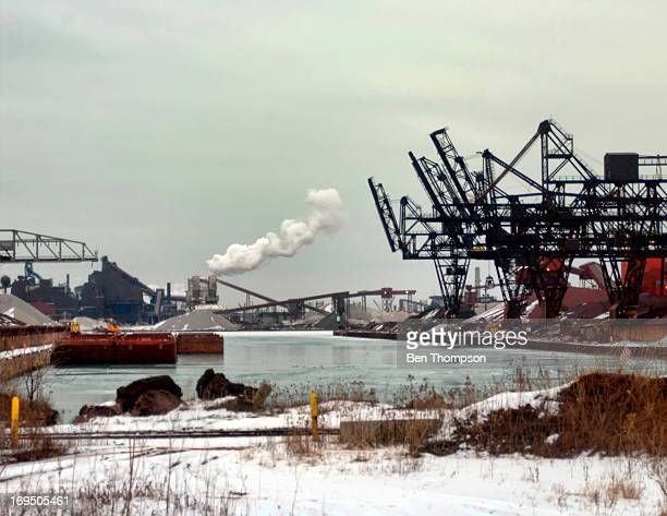 CONTENT] Gary Indiana Steel Mills as seen from Amtrak train